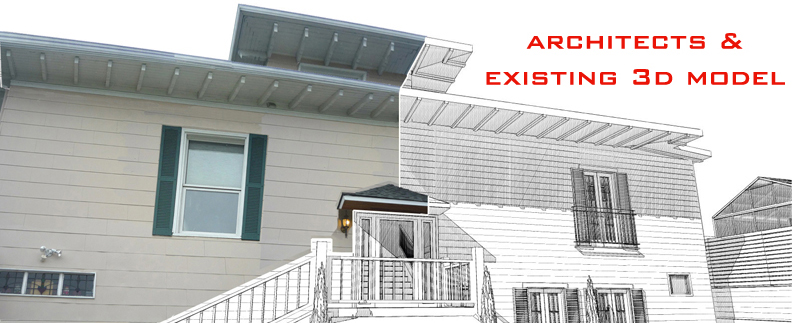 ASBUILT MODELING SERVICES for ARCHITECTS and DESIGNERS
